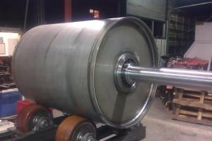 Driving barrel used for transport-belts