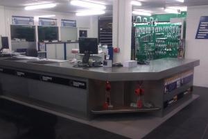 New build counter of Duursma Apeldoorn
