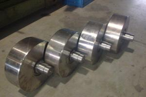 Cast iron processing wheels
