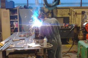 Welding of the rotor